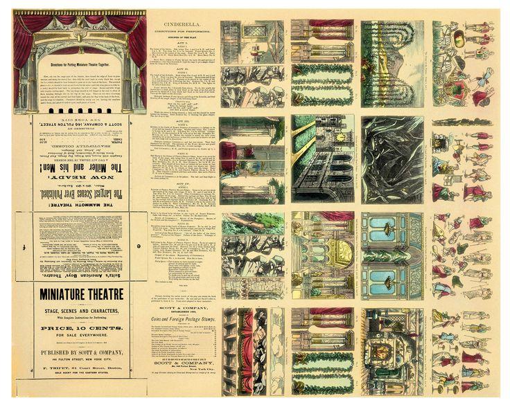 Mini Cinderella Theater Sheet http://www.vischmarktpapierentheater.nl/summer_2012/Free_Download_files/Miniaturecompressed2.jpg