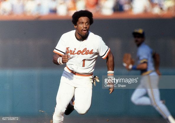 News Photo : Al Bumbry of the Baltimore Orioles circa 1983...