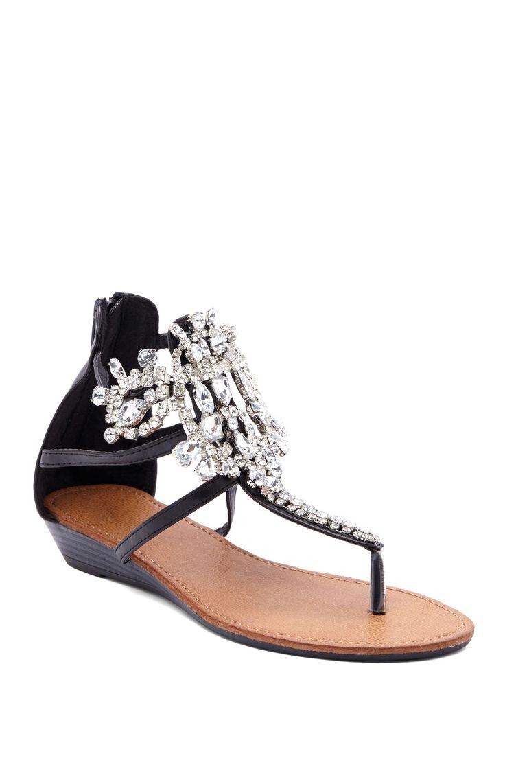 Sandals honeymoon shoes with rhinestone - Bucco Bucco Destiny Rhinestone Sandal Nordstrom Rack
