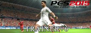 Pro Evolution Soccer 2015 Trainer+6, more trainers at: pc-game-cheats.com