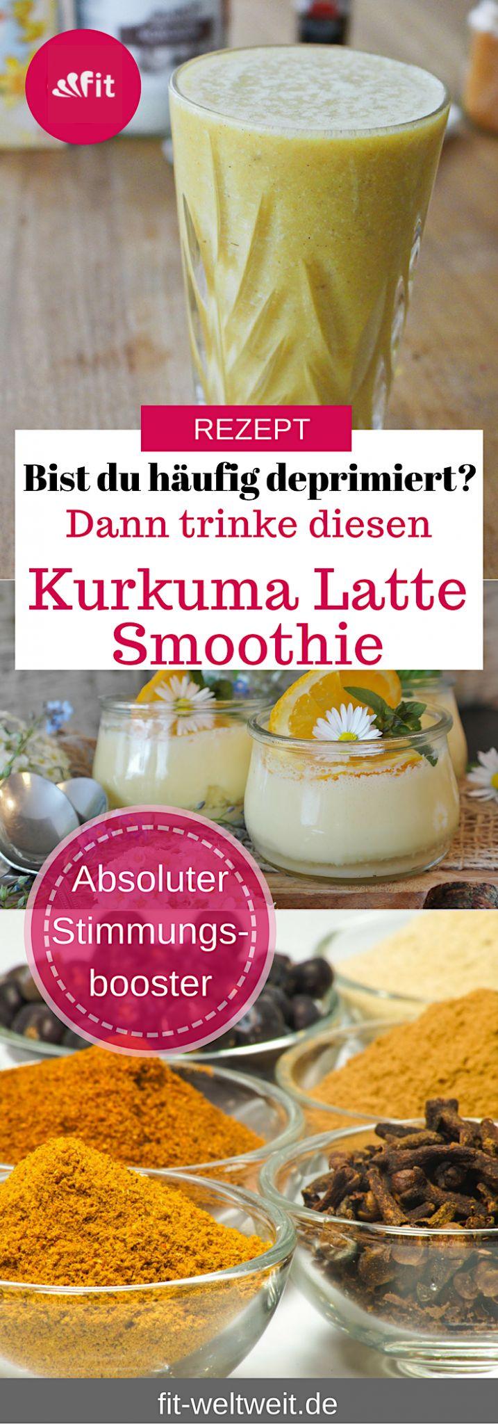 Würziger Lebkuchen Kurkuma Latte – der Smoothie für die Winterzeit