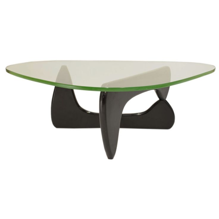 Early Green Glass Coffee Table by Isamu Noguchi   From a unique collection of antique and modern coffee and cocktail tables at http://www.1stdibs.com/furniture/tables/coffee-tables-cocktail-tables/