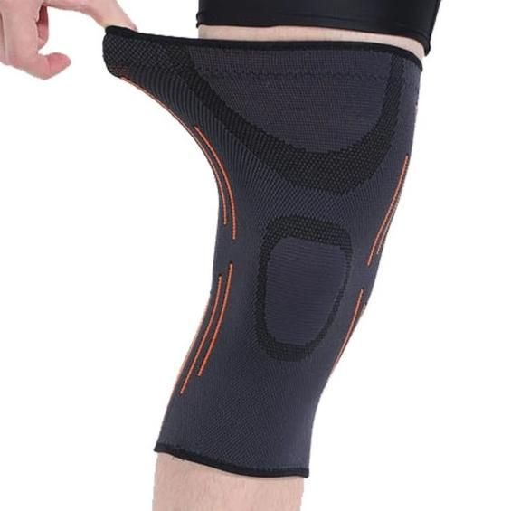 1pcs High Quality Breathable Elastic Basketball Knee Pad Badminton Running Hiking Outdoors Sports Knee Support In 2020 Basketball Knee Pads Knee Support Knee Pads
