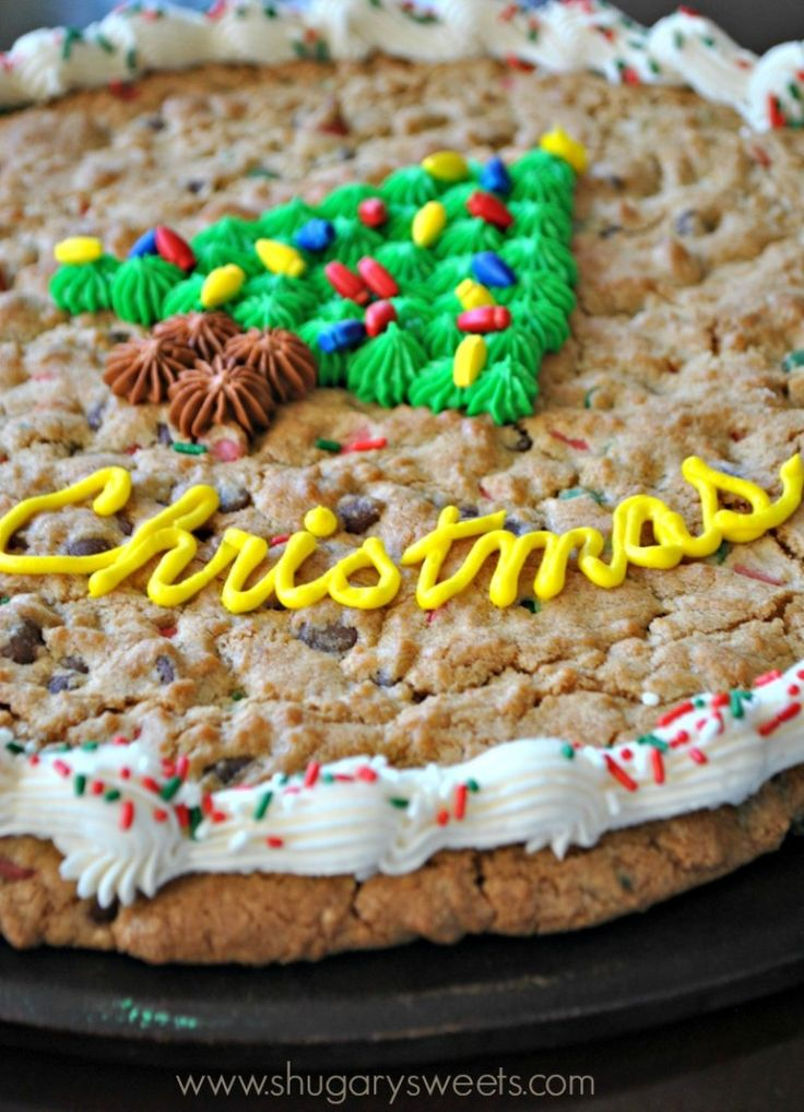 Non Dairy Chocolate Chip Cookie Cake
