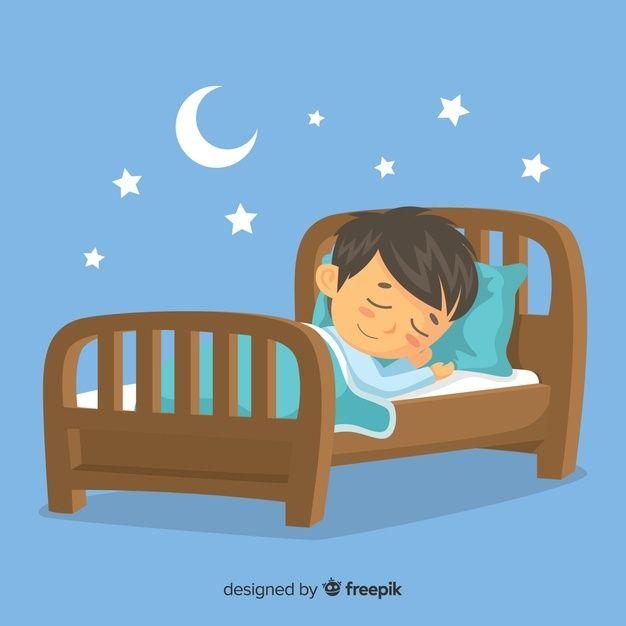 Persona Durmiendo Free Vector Freepik Freevector Estrella Dibujos Animados Luna Muebles Imagenes De Ninos Durmiendo Dormir Ninos Rutina Diaria De Ninos