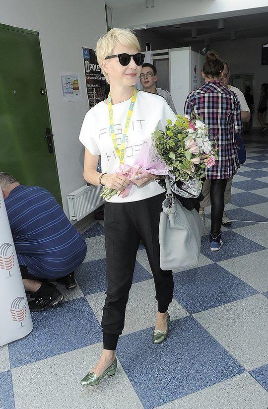 Małgorzata Kożuchowska w topie RS #rs