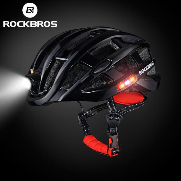 The Ultimate Helmet for City Rides Re-imagining the humble bicycle helmet. ROCKBROS Cycling Helmet with Integrated Lights is the best bike helmet that beautiful
