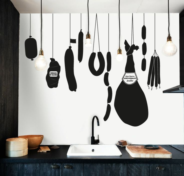 12 best cocina kitchen images on pinterest design for Vinilos decorativos para cocina