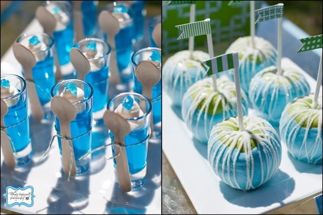 what is that desert in the glass with the spoon?: Blue Food, Jello Shots, Water Parties, Jello Cups, Birthday Parties, Candy Apples, Parties Ideas, Parties Treats, Water Fight