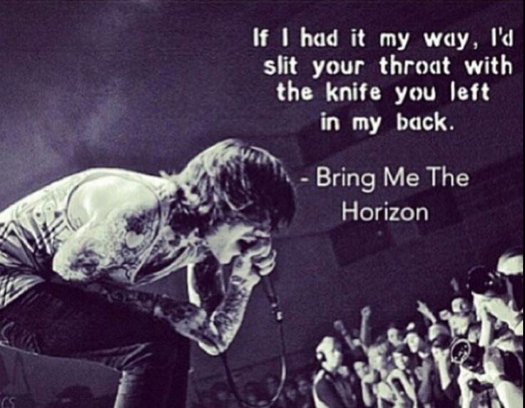 Sleep With One Eye Open - BMTH