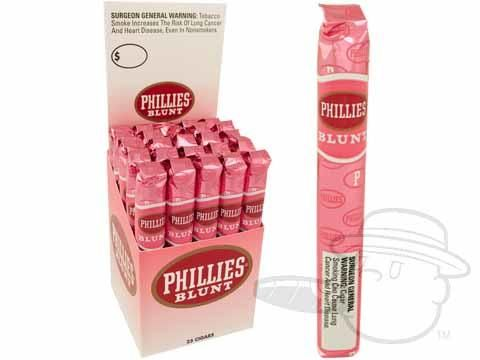 Phillies Blunt Strawberry Upright 4 7/8 x 41—Box of 25 - Best Cigar Prices