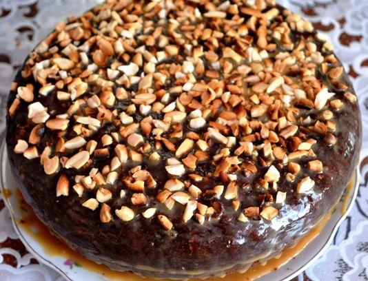 Шоколадный торт на кефире «Фантастика» в мультиварке  и  духовке