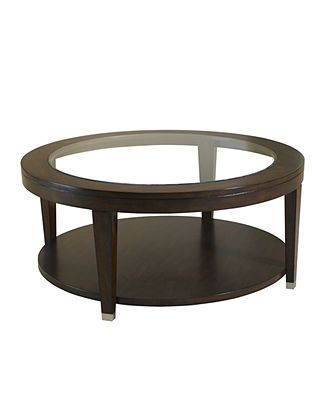 monroe table round cocktail table furniture macyu0027s - Macys Coffee Table