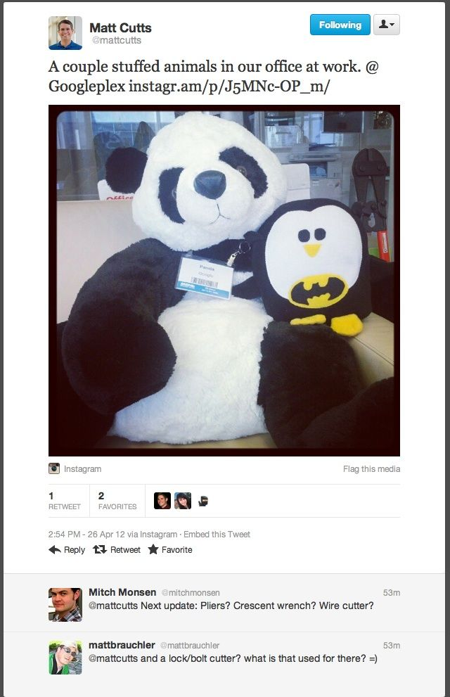 In a bid to clear spam from google web search results the dreaded Panda update was released last year. This saw some bigwigs in the internet world come down tumbling…