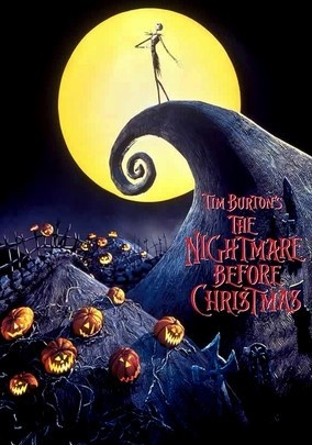 The Nightmare Before Christmas (1993) Tired of scaring humans every October 31 with the same old bag of tricks, Jack Skellington, the spindly king of Halloween Town, kidnaps Santa Claus and plans to deliver shrunken heads and other ghoulish gifts to children on Christmas morning. But as Christmas approaches, Jack's rag-doll girlfriend, Sally, tries to foil his misguided plans. This music-filled, stop motion-animated delight springs from the gleefully twisted mind of Tim Burton.