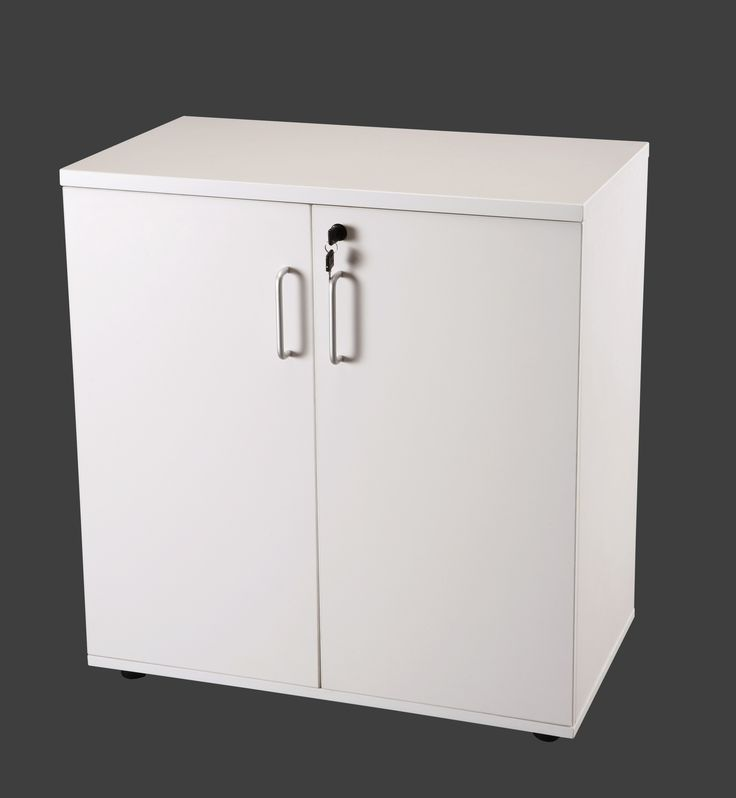 S02 Office Storage 900mm with doors and 2 shelves