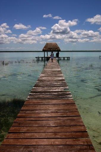 Laguna Bacalar, Quintana Roo.