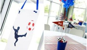 Soccer Themed 4th Birthday Party!