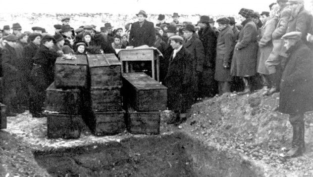 """""""The Kielce pogrom was an outbreak of violence against the Jewish community centre in the city of Kielce, Poland on July 4, 1946, initiated by Polish Communist armed forces (LWP, KBW, GZI WP)[1] and continued by a mob of local townsfolk. Following a false tale of child kidnapping, including allegations of blood libel[2] which led to a police investigation, violence broke out which resulted in the killing of around 40 Jews."""""""