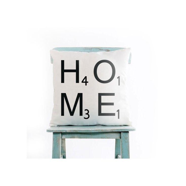 Poduszki ozdobne marki French Home, są ciekawym dodatkiem do domów. Biała poduszka z modnym napisem HOME, doskonale dopasuje się do każdego wystroju.