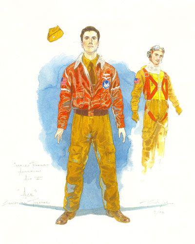Charles Anderson (Ace), Robert Perdziola