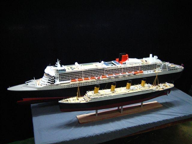 Titanic Größenvergleich Aida