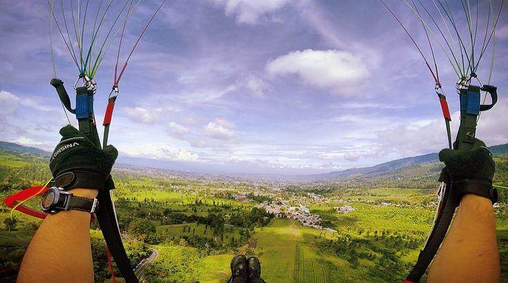 Fly over Puncak, Bogor.