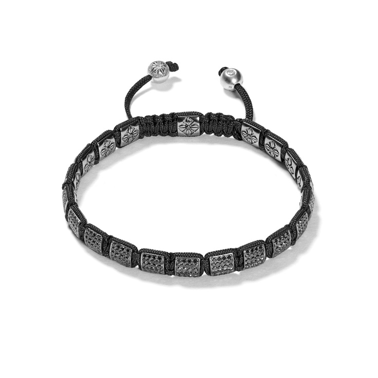 Black Diamond Lock Bracelet