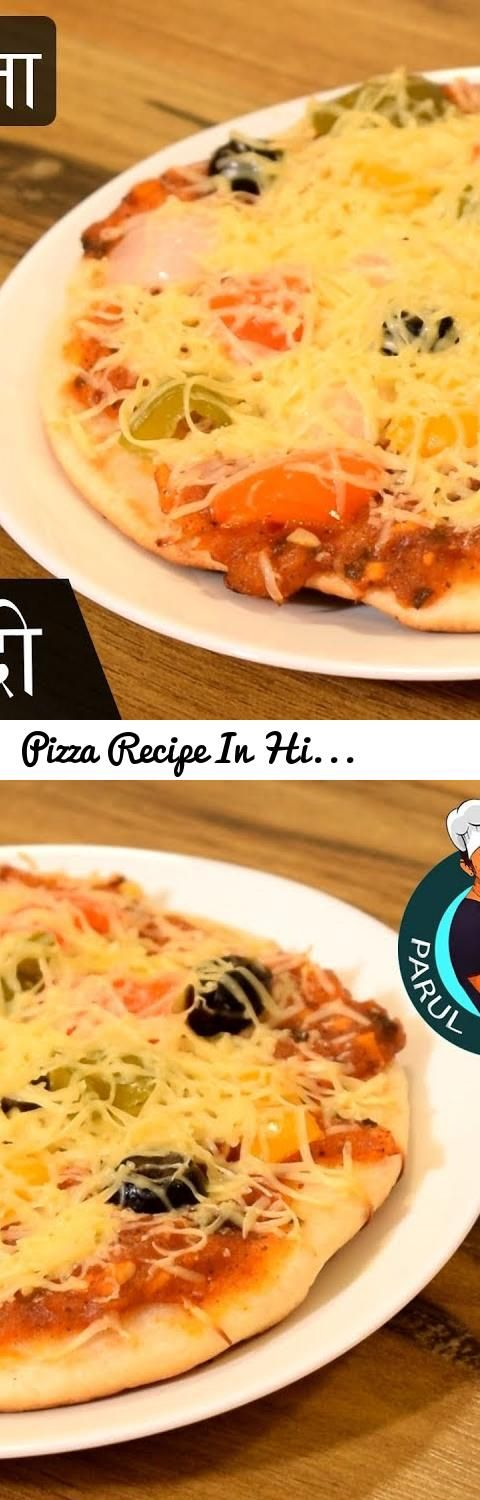 The 25 best recipes of vegetable in hindi ideas on pinterest pizza recipe in hindi without oven on tawa with english subtitles parul ka zaika tags pizza cuisine pizza recipe on pan veg pizza recipe in forumfinder Choice Image