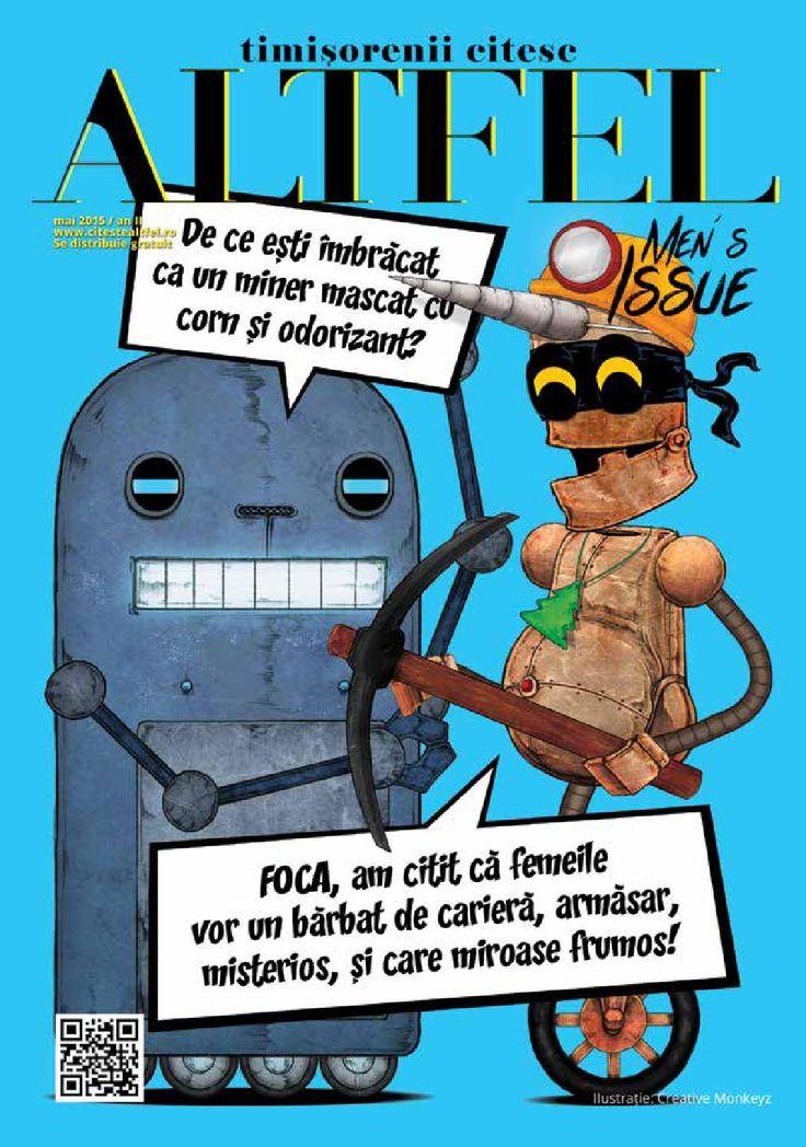 Revista Altfel may 2015 - Altfel magazine @abru_andrei
