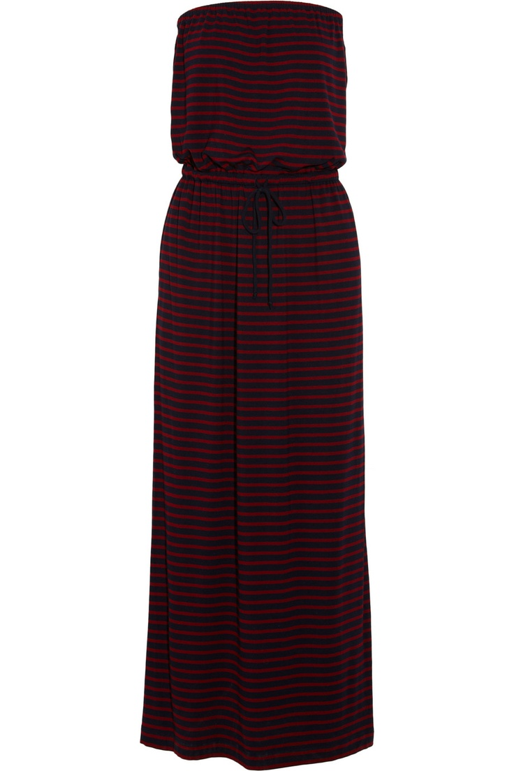 J.Crew Amie Striped Jersey Maxi Dress  (Net-a-Porter, now$58.80): Fashion Style, Summer Style, Jersey Maxi Dresses, Styles In