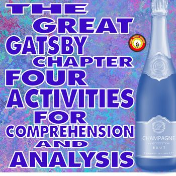 Nick has been fascinated with his neighbor Mr. Gatsby since his arrival in West Egg. Chapter 4 begins the friendship between the two men and reveals to the reader even more of Gatsby's fabulousness! This The Great Gatsby Chapter 4 resource is a series of activities requiring students to ----identify character