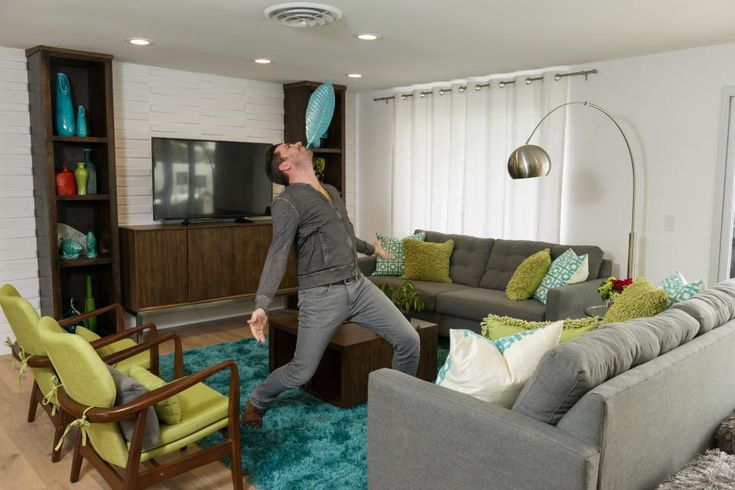 Unbelievable Living Room Renos From Drew and Jonathan
