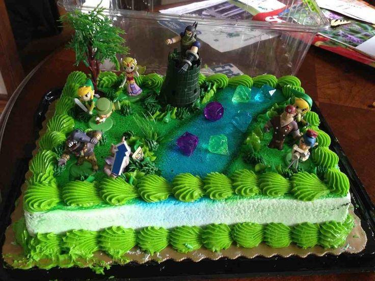 Zelda Cake Decor : 104 best images about 35 on Pinterest Legends, Zelda and ...