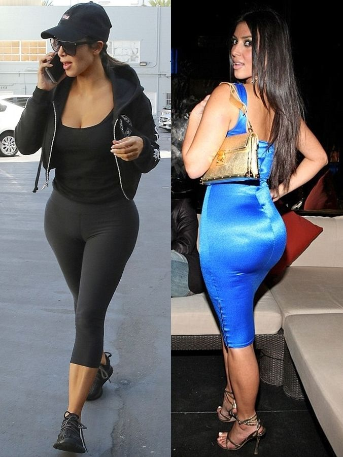Kim Kardashian Has Butt Implants 37