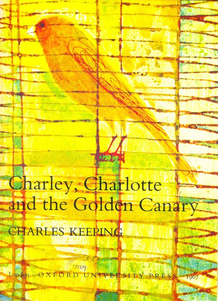 Charles Keeping.Golden Canary, Book Covers, Tiny Tins, Wonder Illustration, Book Illustration, Children Book, Pictures Book, Illustration Children, Amazing Illustration