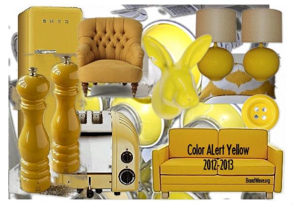 Color Alert Yellow