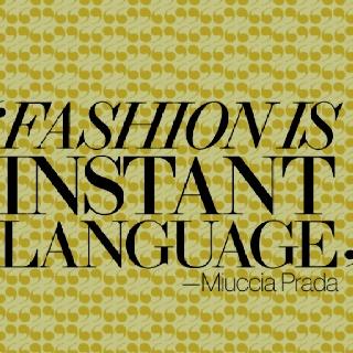 #Prada #Fashion #Quote