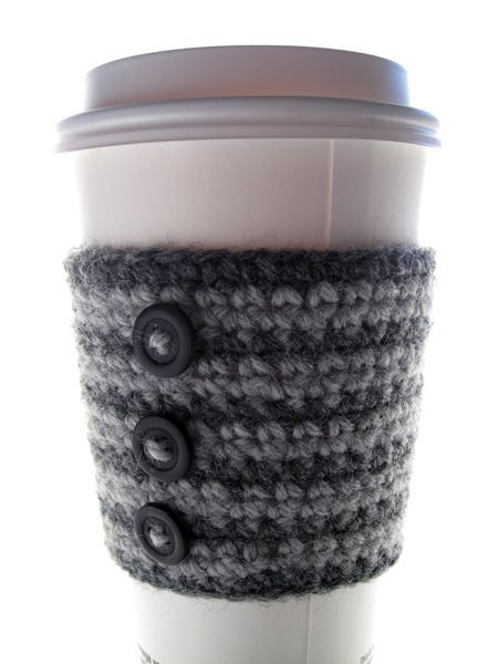 Crochet Coffee Cup Cozy | Crafts | Pinterest