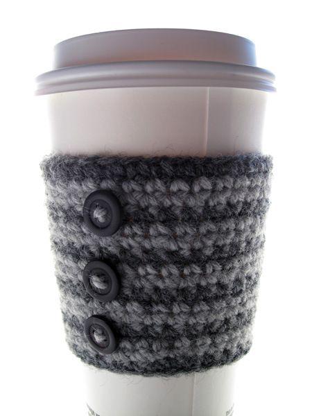 Crochet Coffee Cup Cozy | Crafts | Pinterest