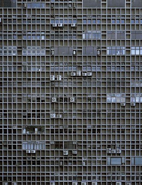 hong kong building exterior...