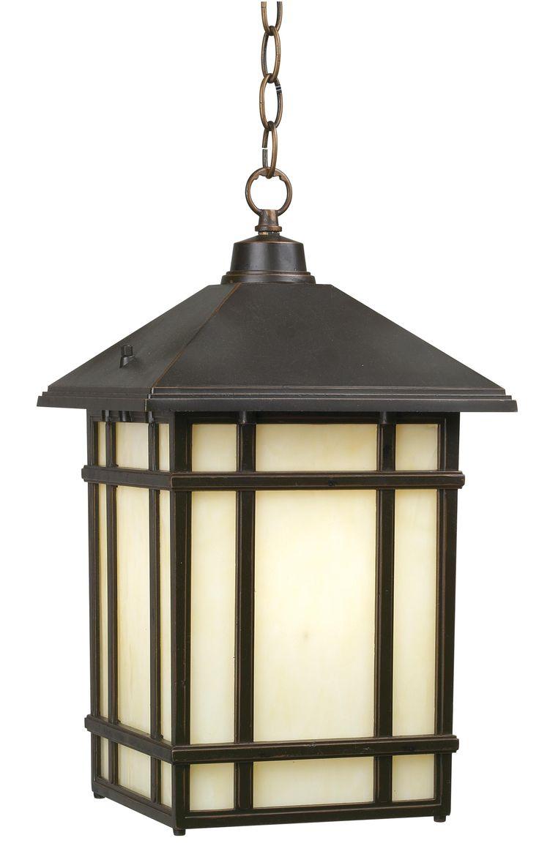 Outdoor hanging lighting - J Du J Mission Hills 16 1 2 High Outdoor Hanging Light Style 97321