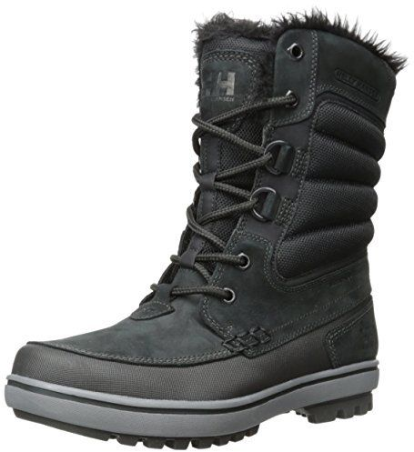 Helly Hansen Men's Garibaldi D Ring Winter Boot, Keep warm while looking your best. The Garibaldi snowboot is the perfect blend of style and function with its protective to-to-heel rand combined with waterproof nubuck leathers and a warm faux fur lining.