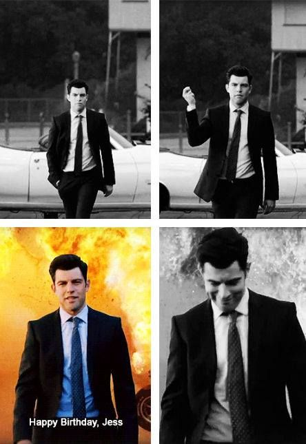 New Girl - Schmidt #Season3 #OnlySchmidt #HappyBirthdayJess