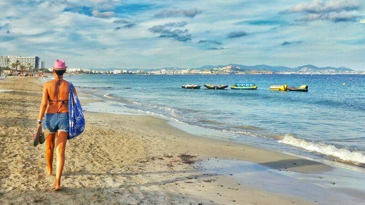 Platja d'En Bossa in San Jose de la Atalaya, Islas Baleares