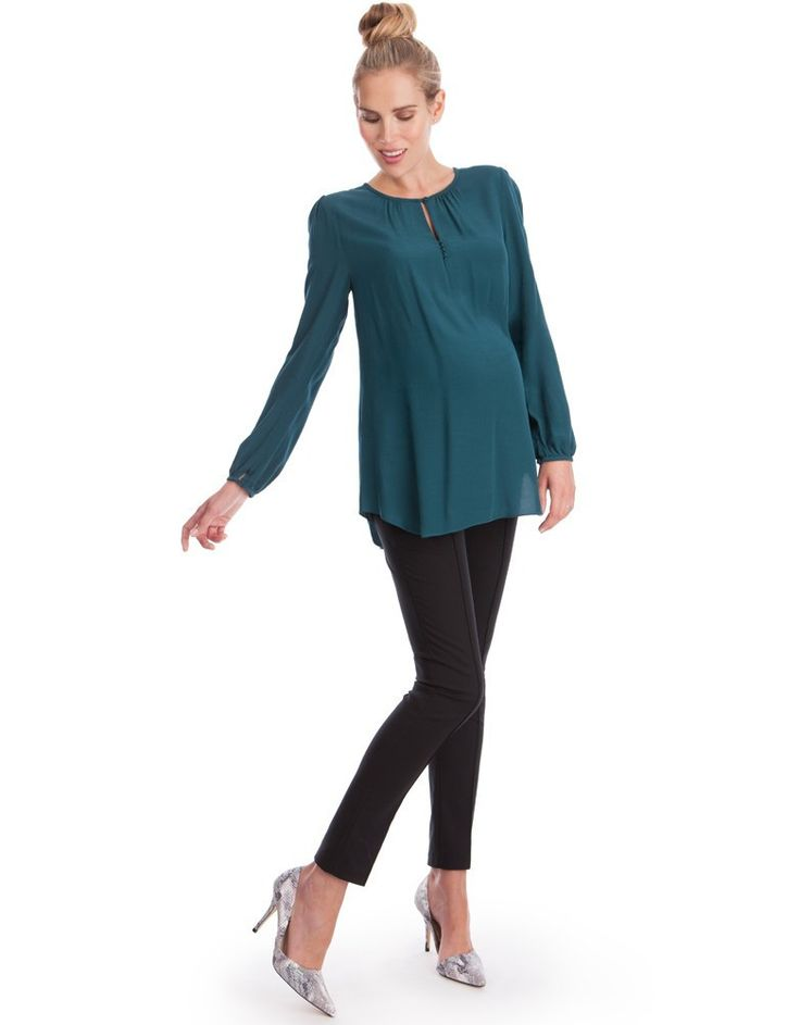 Seraphine Maternity Elin Top Emerald