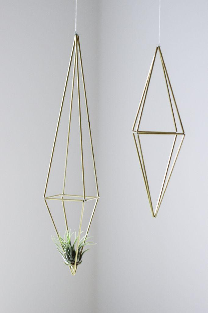 DIY Himmeli Prism | cladandcloth.com