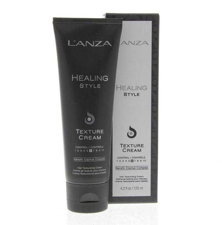 L'Anza Healing Style Texture Cream Crème Hold 6 - Hair Tex  L'Anza Healing Style Texture Cream - Hold 6 - Hair Texturizing Cream. Styling cream voor ongekende ondersteuning met flexibele beweging het haar voelt luchtig en prettig aan. Geeft textuurvolume en glans. Gebruik: Voor body en volume: breng aan op vochtig haar en föhn het droog. Voor getextureerde beweging: breng aan op vochtig haar draai het in model en laat het aan de lucht drogen.  EUR 18.85  Meer informatie