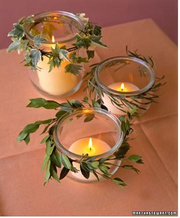 foliage-crowned jars