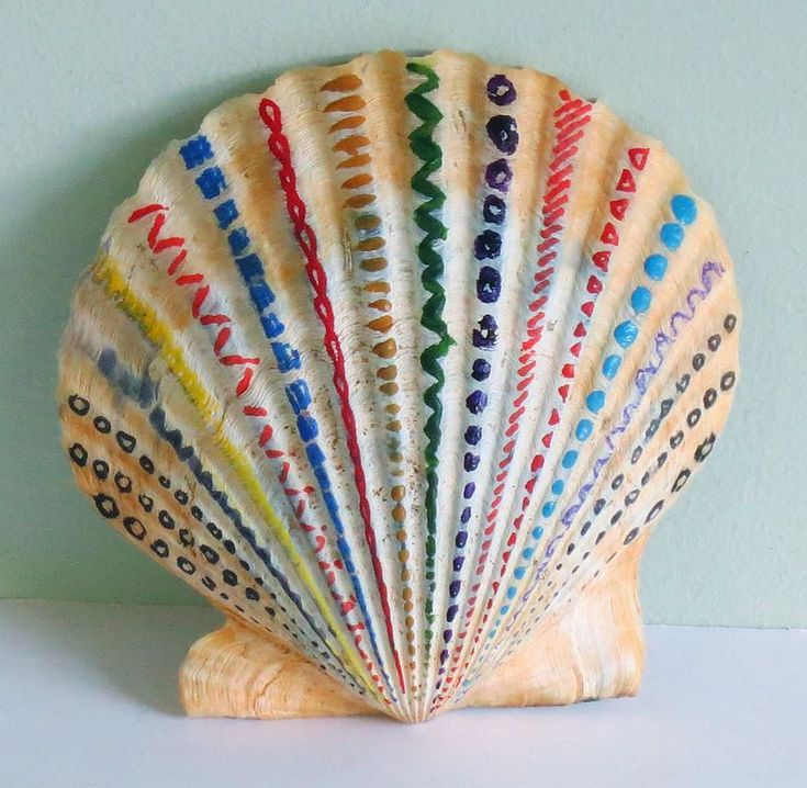 62 best scallop shell crafts images on pinterest - Scallop shells for crafts ...